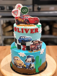 2 tier - LIGHTENNG MCQUEEN
