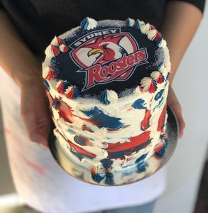 "ROOSTERS NRL- 6"" IMAGE"