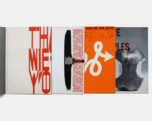About U.S. — Experimental Typography by American Designers (4 Volumes)