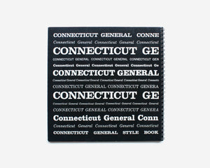 Connecticut General Style Book and Some Notes on Typographic Design by Lester Beall
