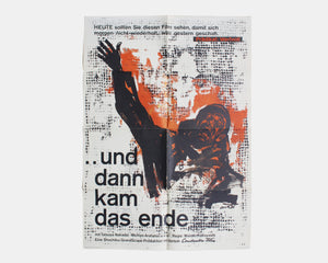 The Human Condition, Part III: A Soldier's Prayer, 1962 — Hans Hillmann [Poster]