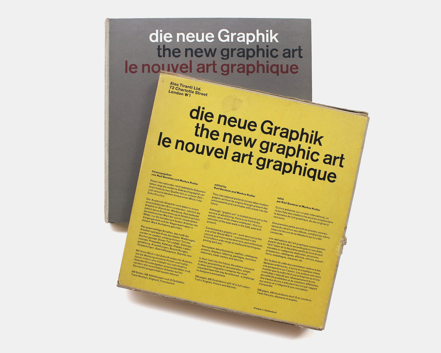 The New Graphic Art [Gerstner and Kutter]