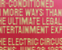 Load image into Gallery viewer, The Electric Circus, New York City [Signed, Reprint Poster]