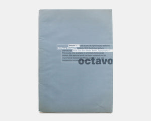 Octavo 87.4, International Journal of Typography [Wolfgang Weingart]