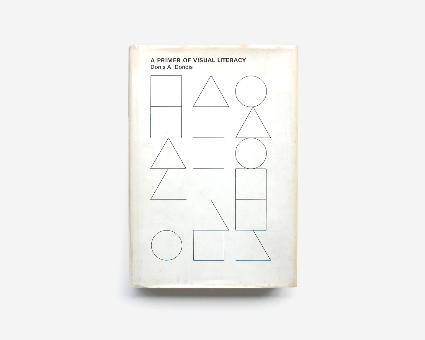 A Primer of Visual Literacy [1st Edition, Muriel Cooper]
