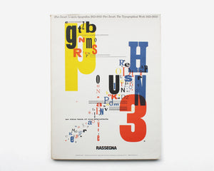 Piet Zwart: The Typographical Work 1923–1933 by Bruno Monguzzi