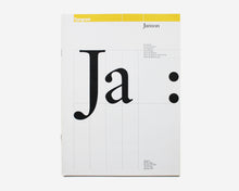 Load image into Gallery viewer, Typogram Type Specimens: Futura, Gill Sans, Janson, Bodoni [Willi Kunz]