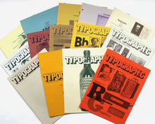 Load image into Gallery viewer, Typographic Journals by ITCA [Edward M. Gottschall and Mo Lebowitz]