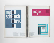 Load image into Gallery viewer, Typographie: Walter Marti