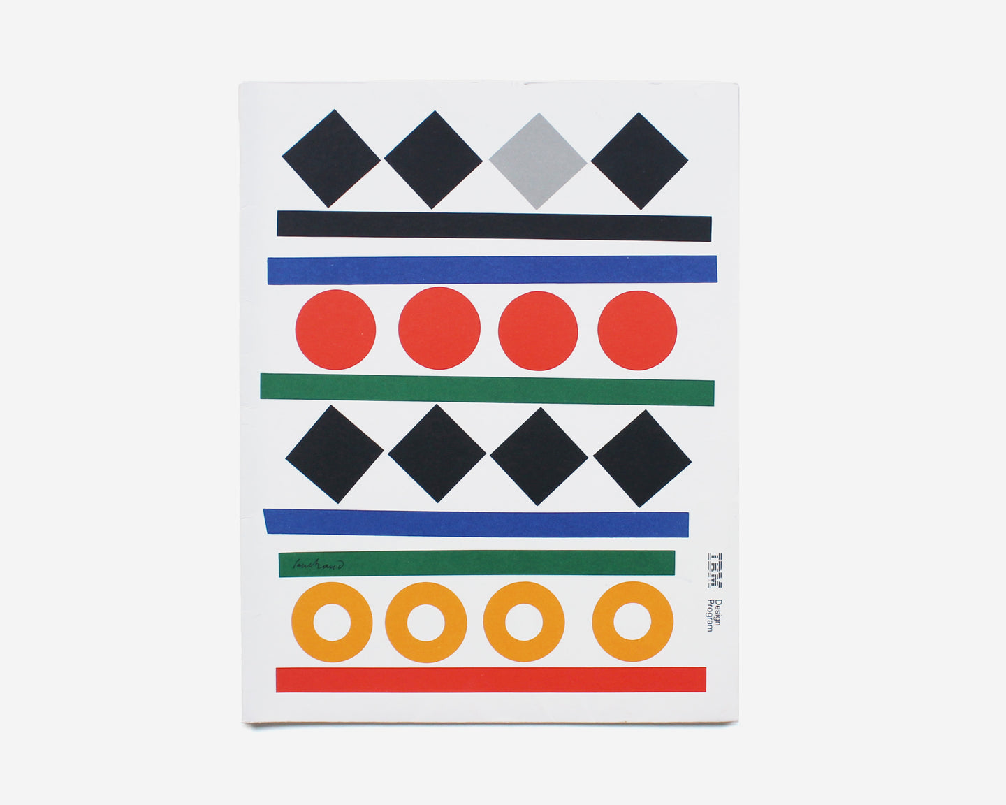 IBM Design Program, Seminar Folder [Paul Rand]