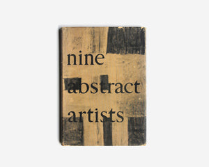 Nine Abstract Artists: Their Work and Theory by Lawrence Alloway