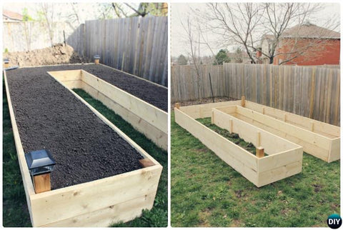 Awesome raised bed garden