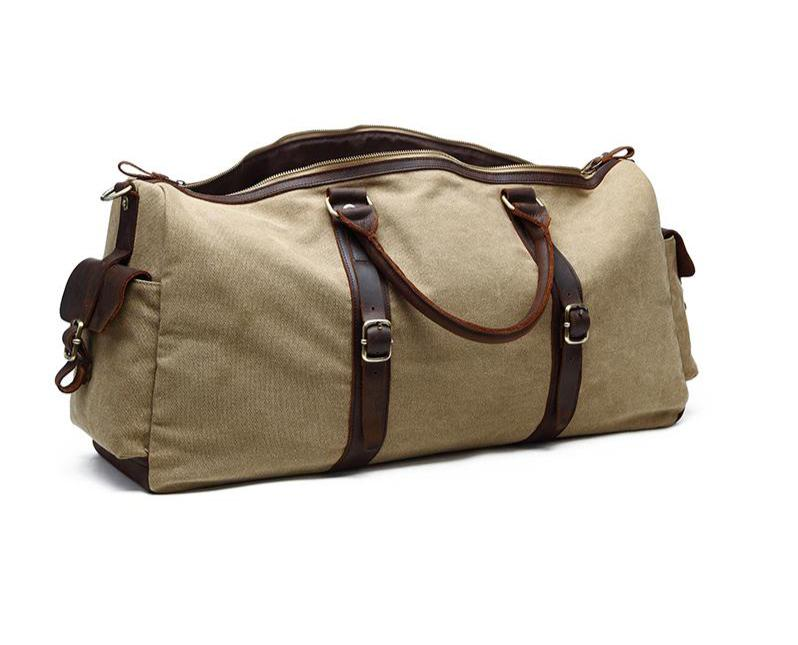 Boston Large foldable Canvas Travel Bag