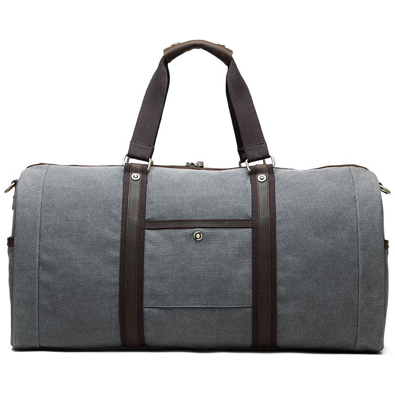 Portobello Canvas Leather Travel Bag