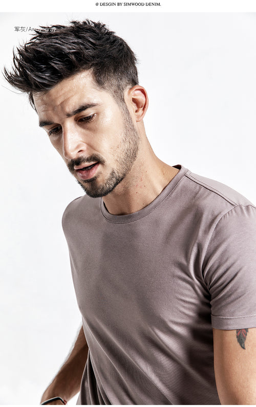 Breathable O-Neck Slim Fit T-Shirt