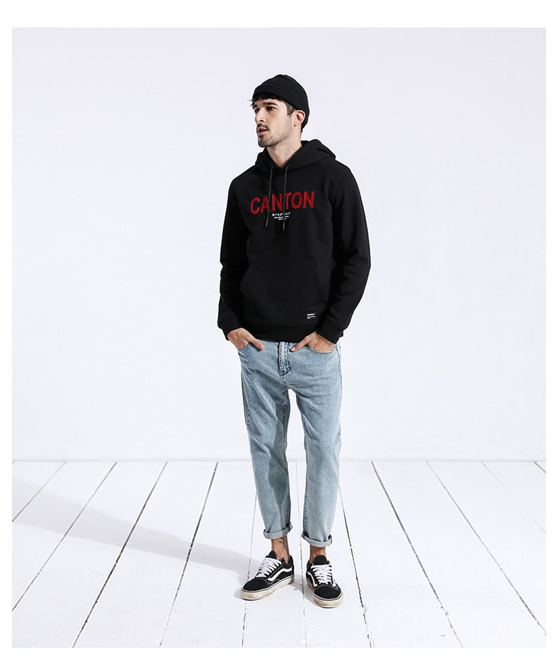 Canton Embroidery Hoodie