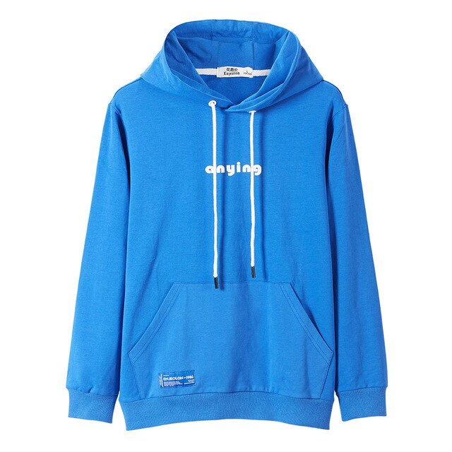 Cotton Embroidered Hoodie