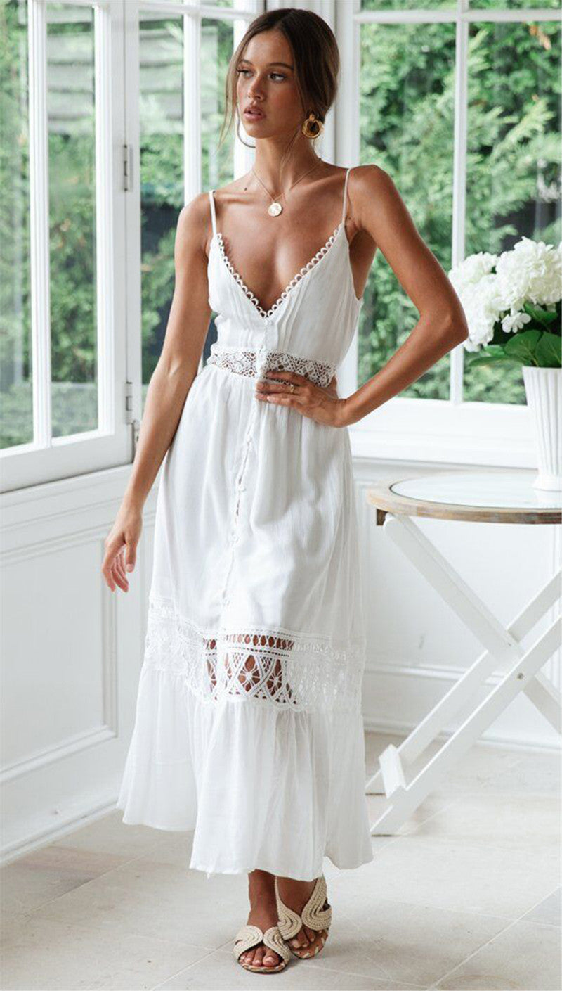 Beach Dress with Lace