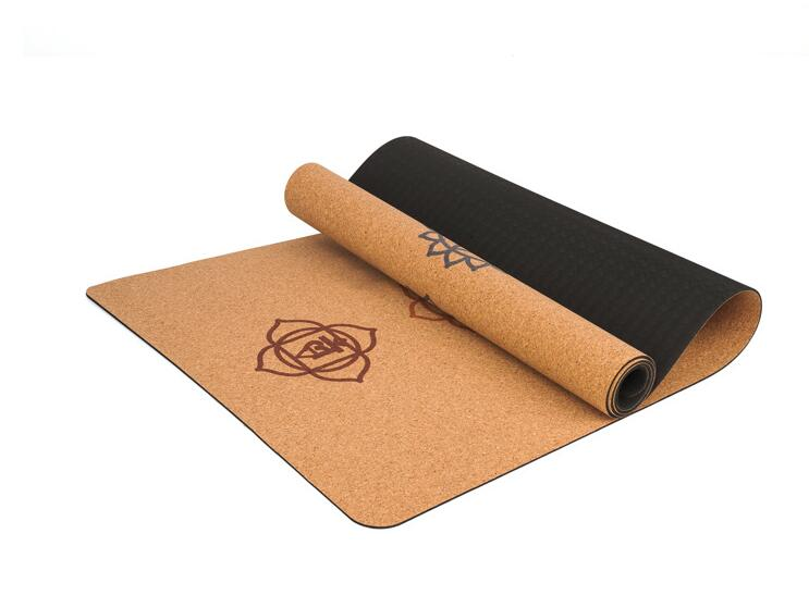 Natural Cork TPE Yoga Mat