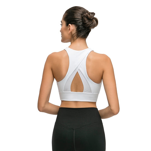 High Impact Push Up Sports Bra