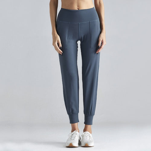 Yoga Fitness Pants with Pockets High Waist Desgin