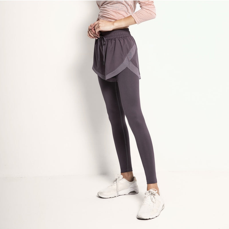 Yoga Pants Two Pieces High Waist Running Tights