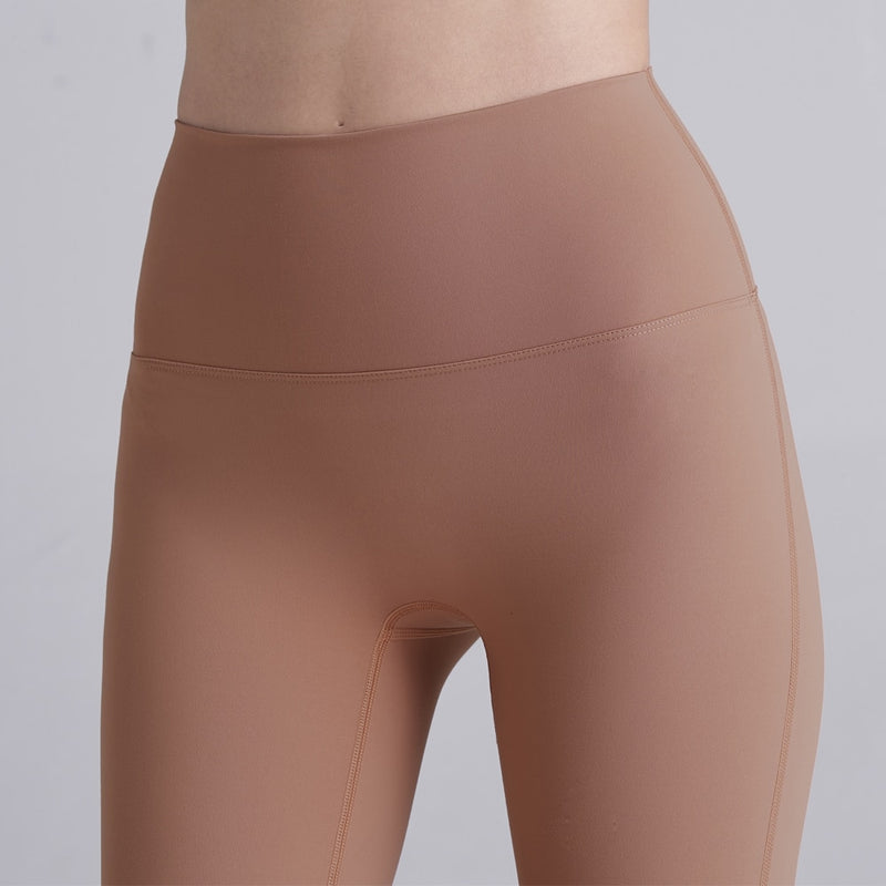 High Waist Yoga Leggings Naked Sense Quick-dry Design