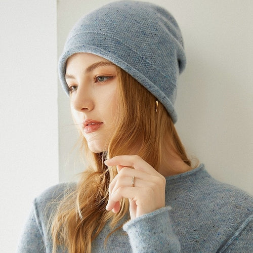 Winter Beanie 100% pure cashmere
