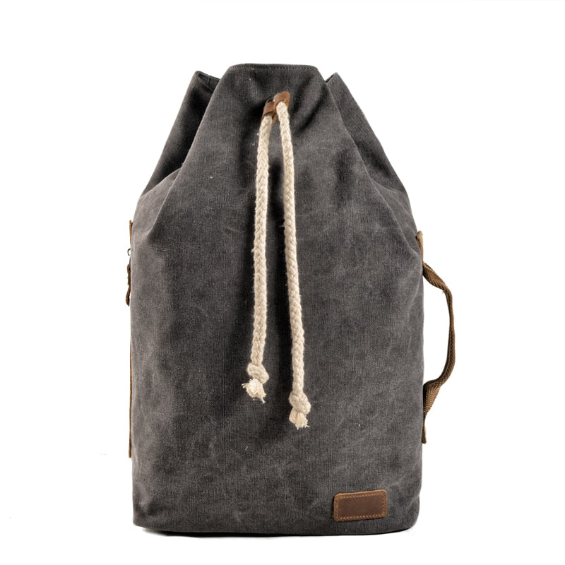 Sports Gym Canvas Backpack