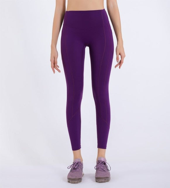 High Waist Pocket Yoga Pants