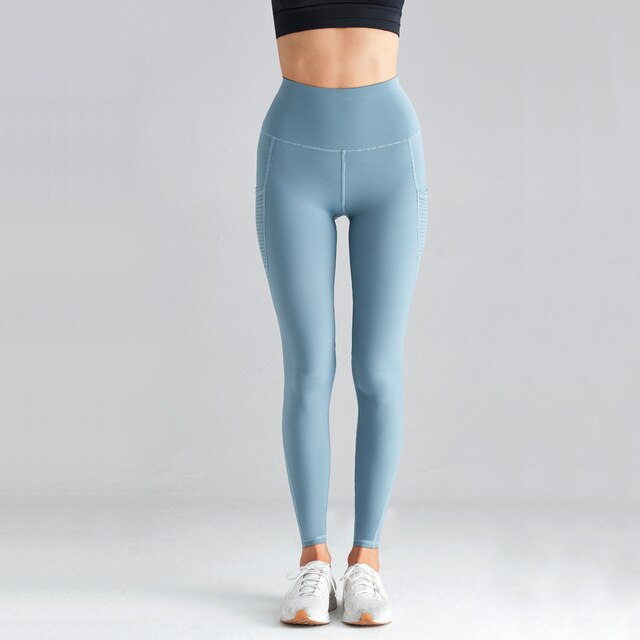 Yoga Leggings Hollow Stitching Design