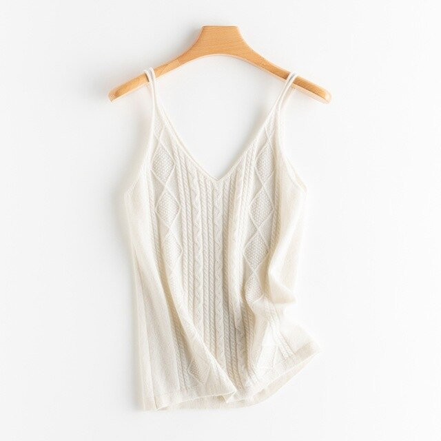 Cashmere Sling top 100% pure cashmere