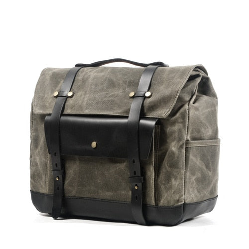 Vintage Side Cladding General Waterproof  Motorcycle Bag