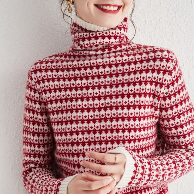 Alpine Turtleneck 100% Cashmere