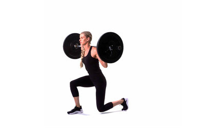 Barbell Alternating Lunge