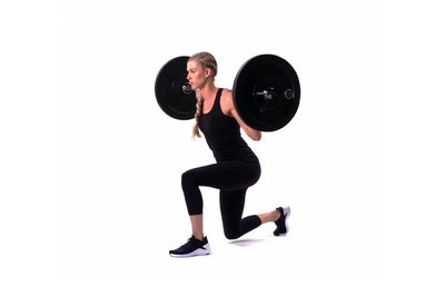 Barbell Static Lunge