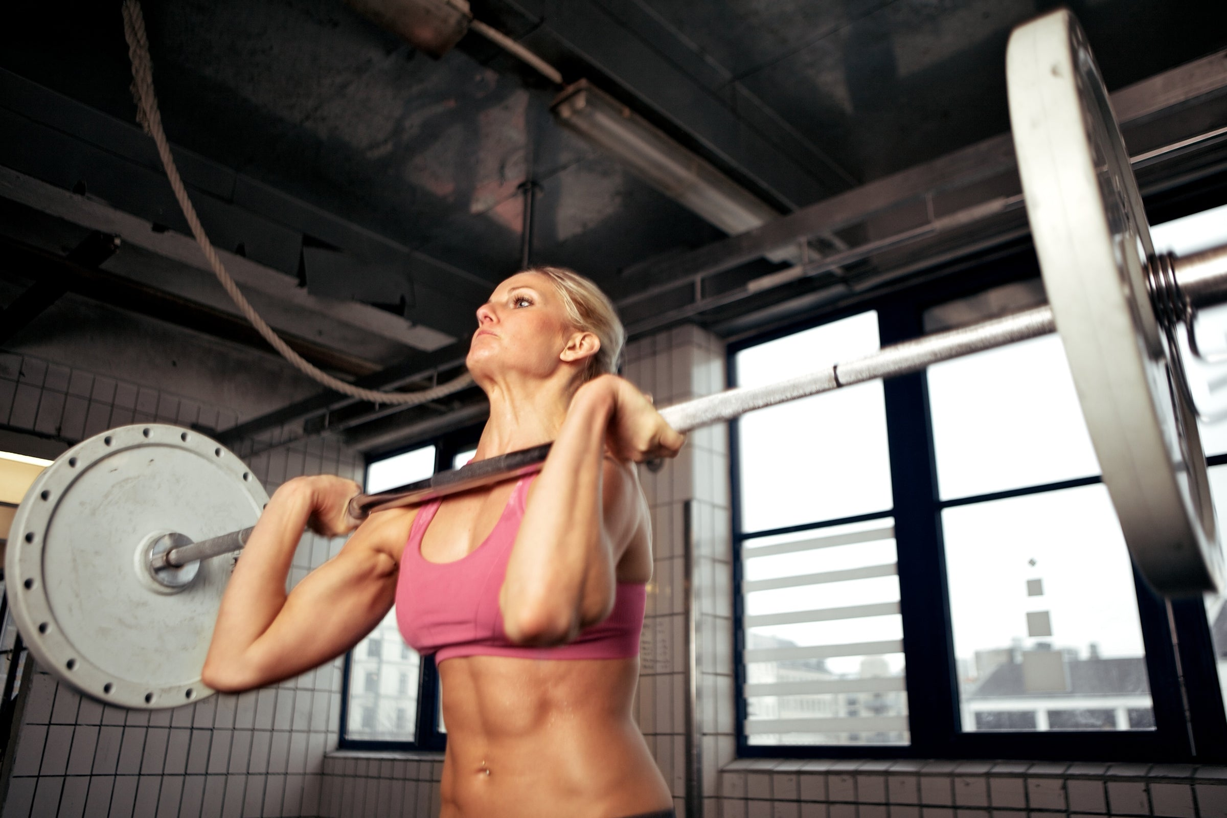The larger the muscles you work, the higher the calorie burn.