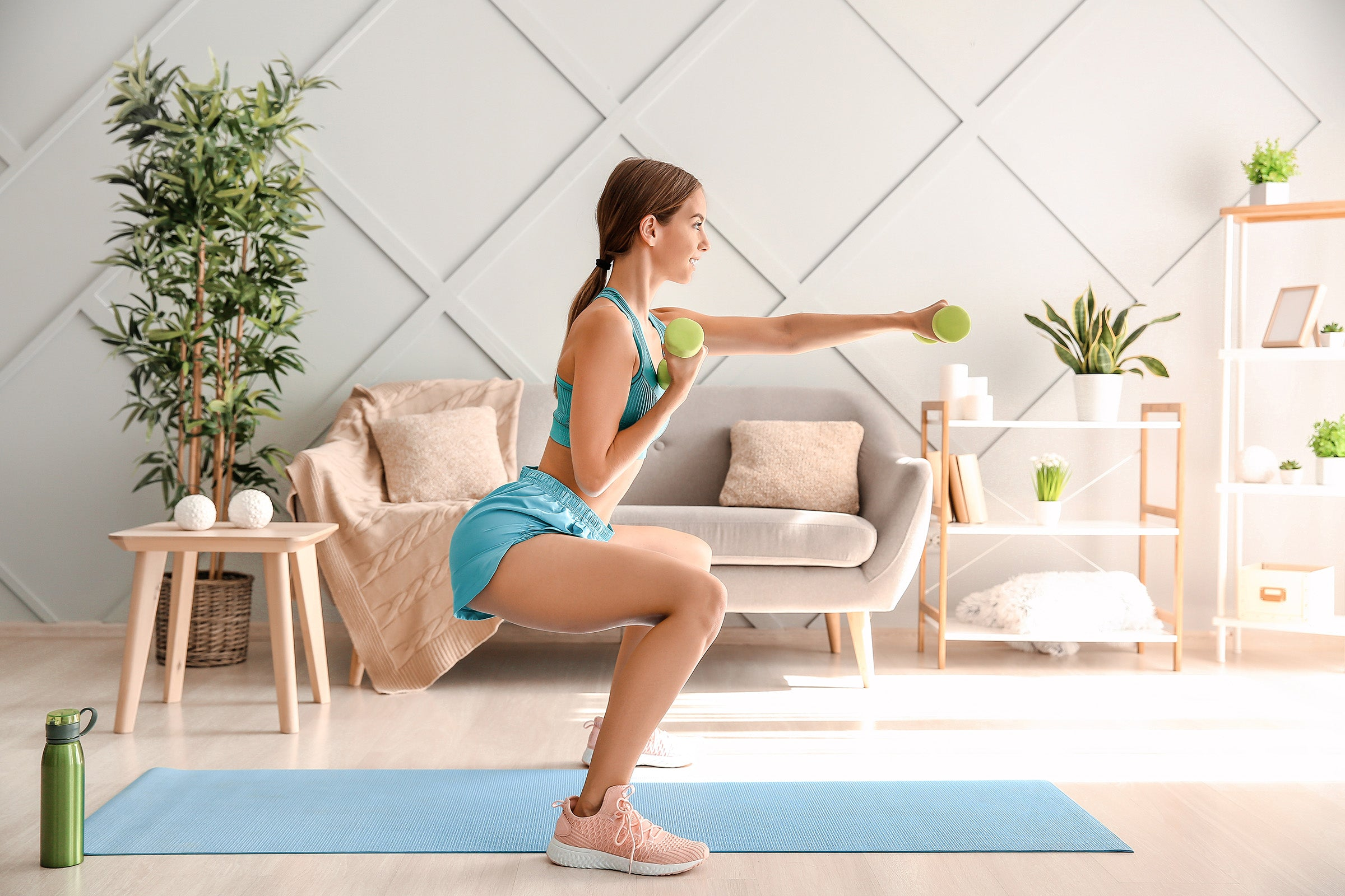Tone up and look fit by adding strength training to your daily routines and you'll be happy with the results.