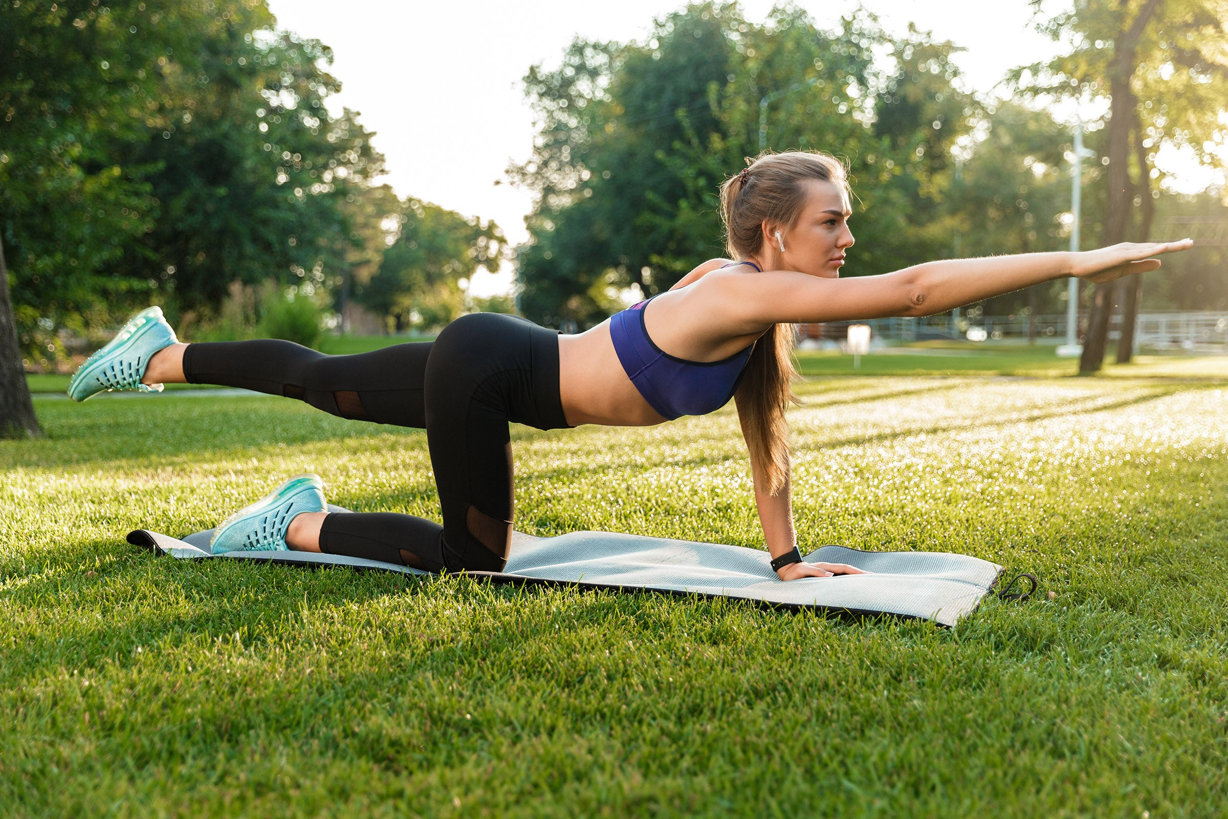 A strong core from resistance training limits stresses on your spine, preventing nagging lower back discomfort and pain.