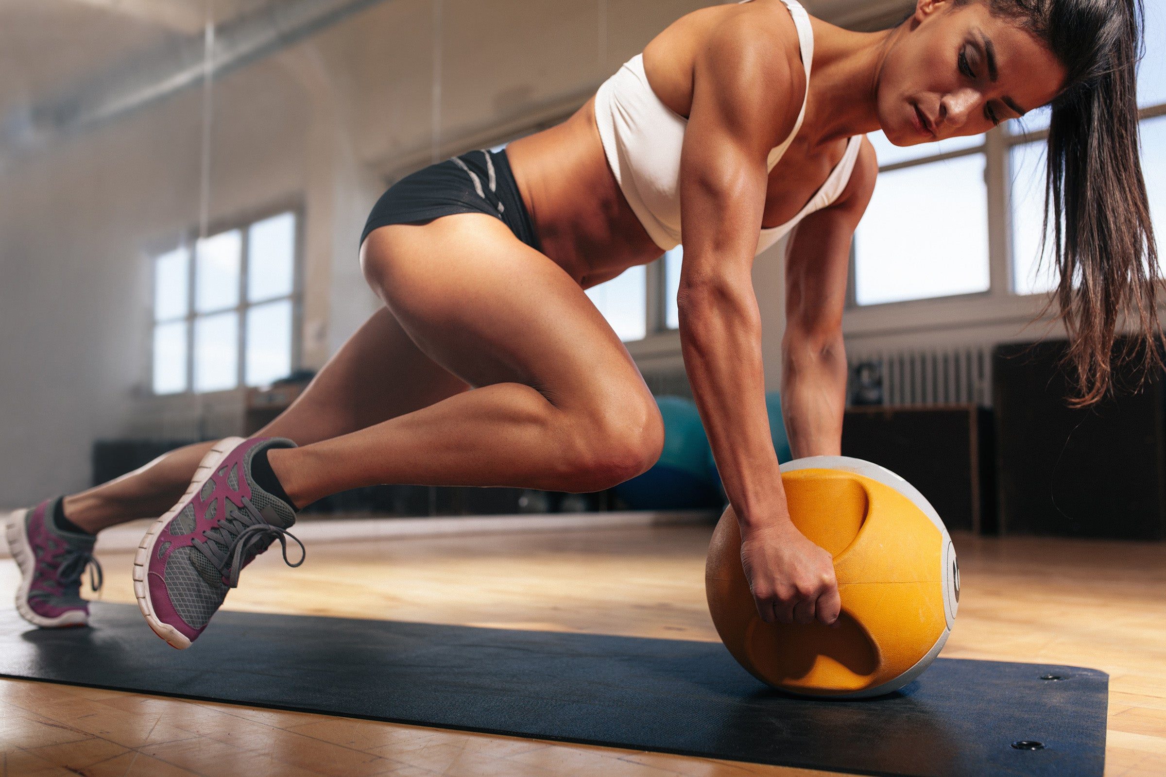 Strength training with a proper diet slows our muscle decline and can even rebuild lost muscle tissue.