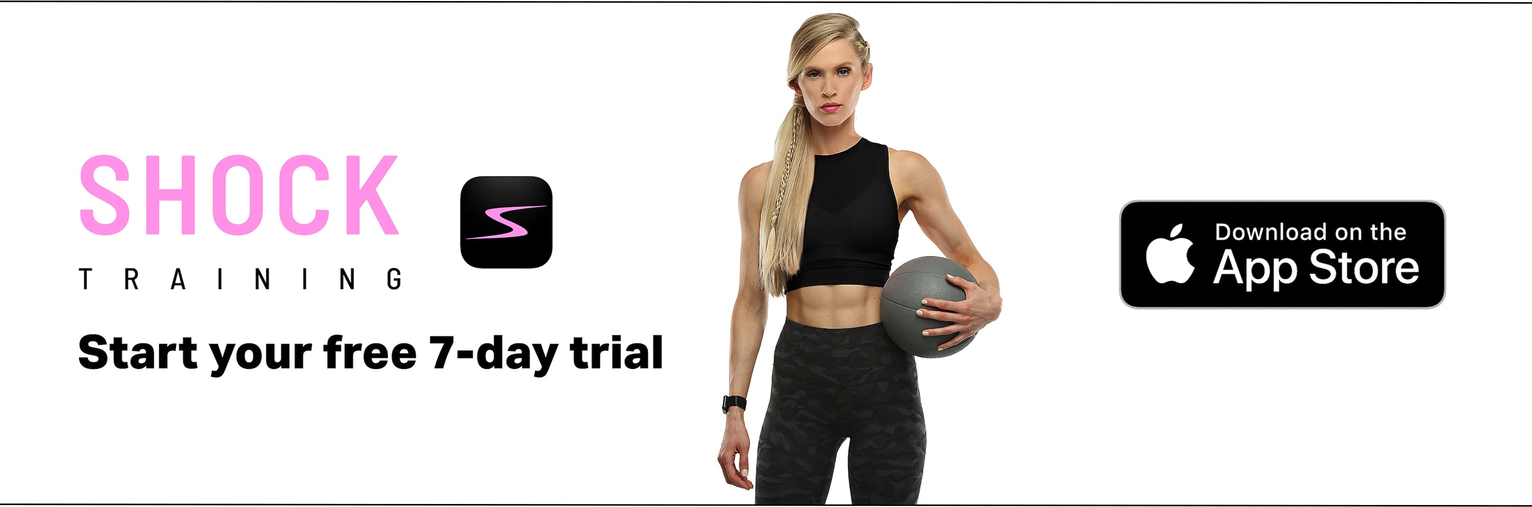 Download the SHOCK Women's Fitness App today!