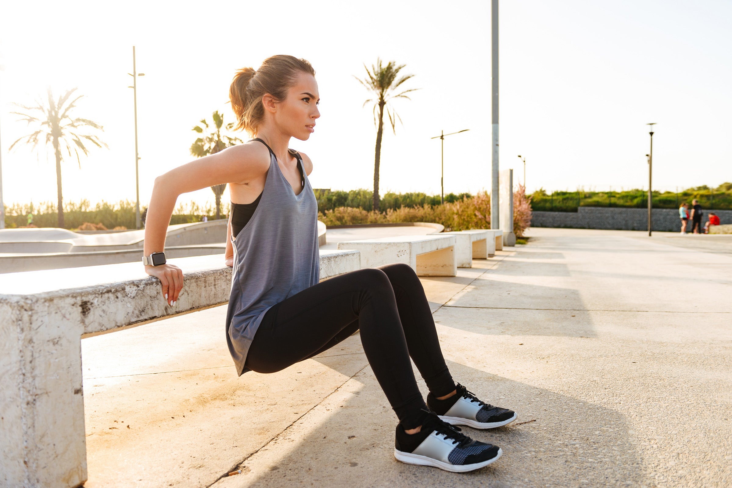 HIIT exercises can include bodyweight movements like squats, jumps, push-ups, lunges, and burpees.