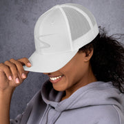 SHOCK Ladies Trucker Cap (White Logo)