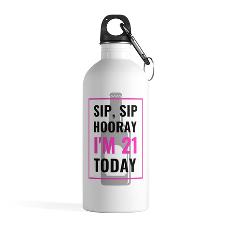 Stainless Steel Water Bottle -SIP SIP