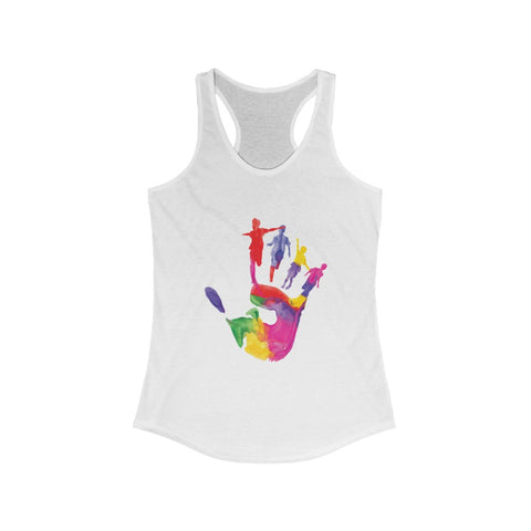Holi Hand Women's Ideal Racerback Tank