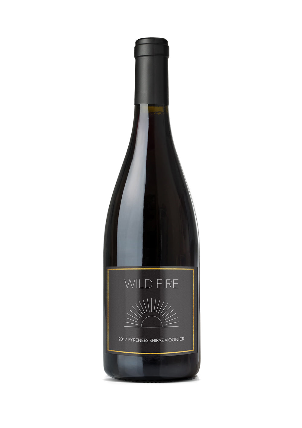 The 2017 Wild Fire Wines Shiraz Viognier.