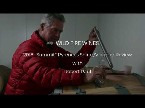 "Wild Fire ""Summit"" Pyrenees Shiraz/Viognier 2018"