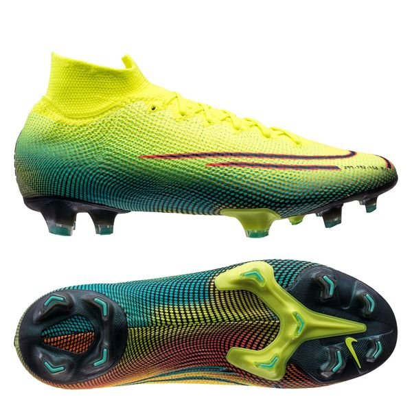 Mercurial Superfly 7 Elite FG Dream Speed 2 - Jaune/Noir/Vert
