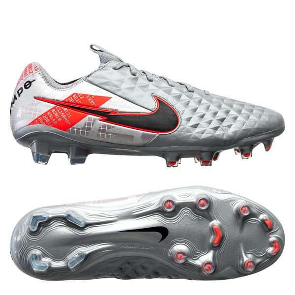 Tiempo Legend 8 Elite FG Neighbourhood - Argent/Noir/Gris
