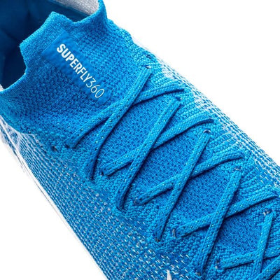 Mercurial Superfly 7 Elite FG New Lights - Bleu Foncé/Blanc